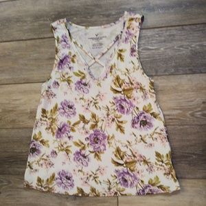 American Eagle Outfitters Tops - American Eagle Outfitters door tank top